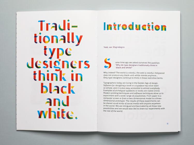 Novo Typo Color book