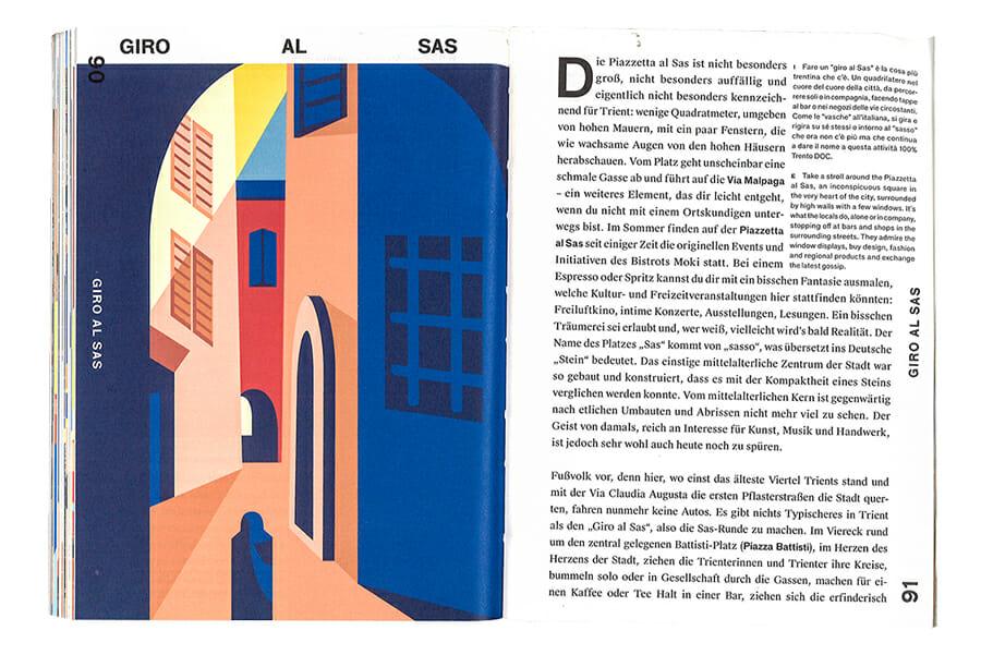Josef Travel Book / Trento - Illustrazione di Collettivo Mare © Josef Travel Book