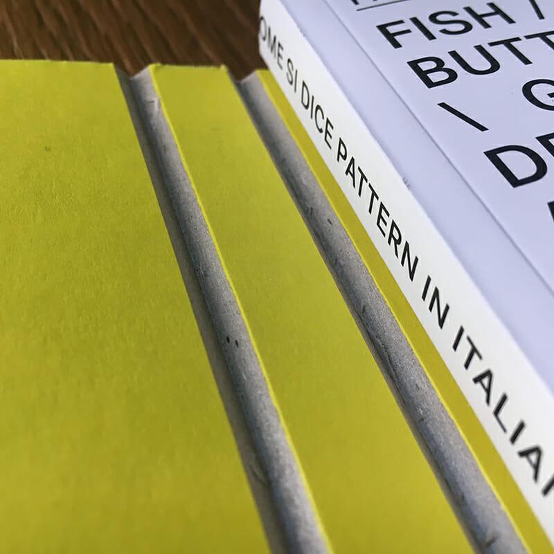 """Il catalogo della mostra """"Come si dice pattern in italiano?"""" stampato da Printaly"""