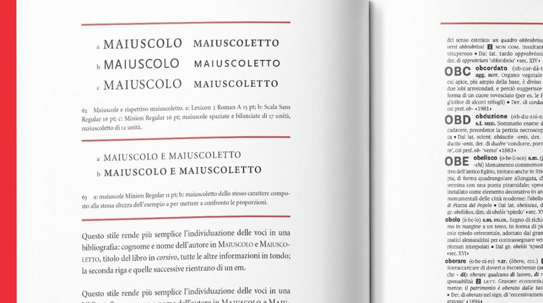 """""""Il dettaglio in tipografia"""" di Jost Hochuli, in italiano per Lazy Dog Press."""