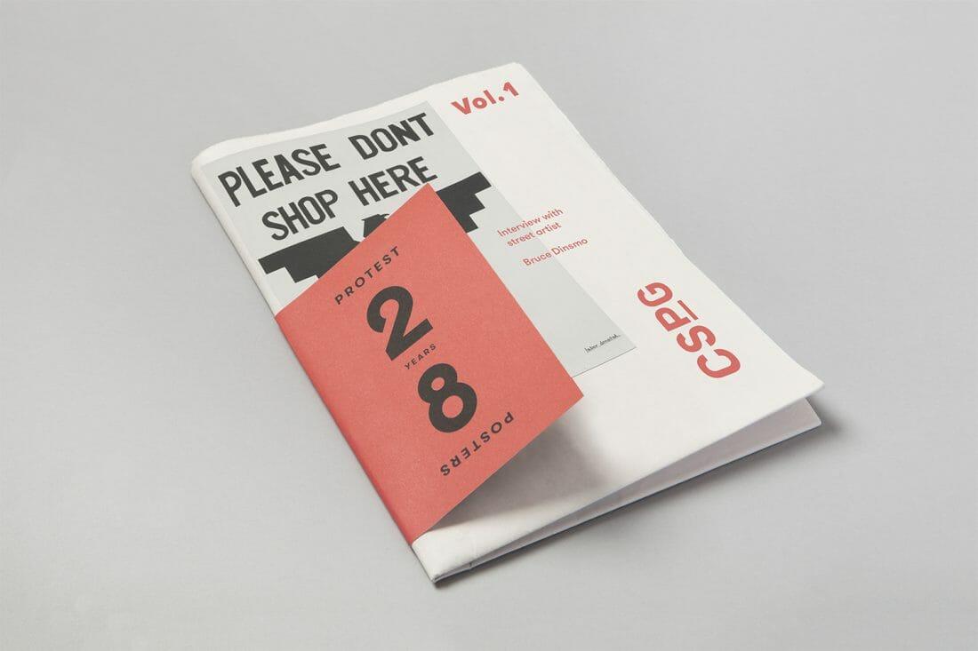 Blok Design per il Centro per lo studio della grafica politica