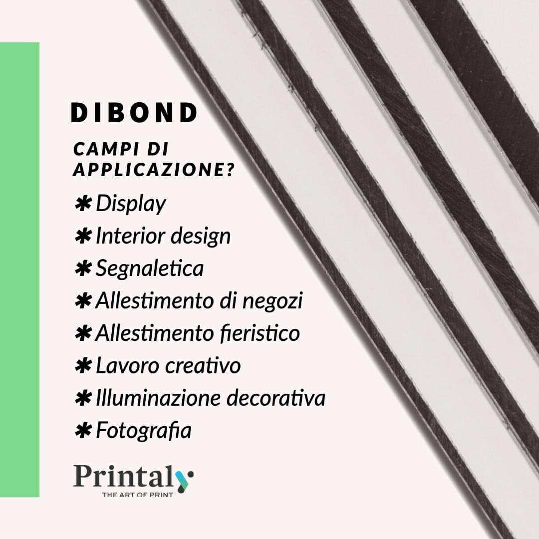 Dibond ®, ideale per la stampa digitale outdoor e indoor