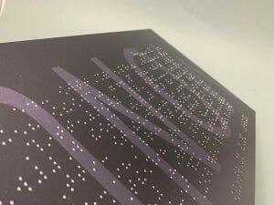 Pannelli informativi in Braille: quando la comunicazione è inclusiva.